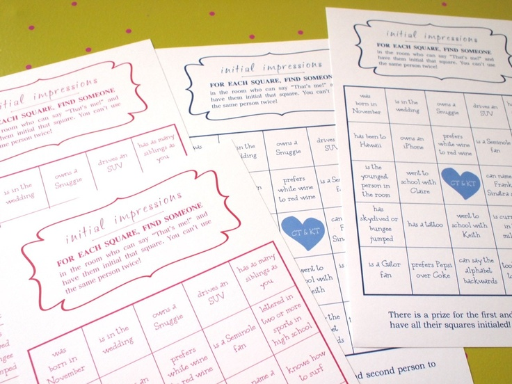 The 25 best wedding bingo ideas on pinterest hen doo ideas wedding bingo game littleborroweddress solutioingenieria Images