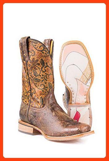 Tin Haul Womens Western Boot Fru Fru 9.5