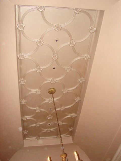 Decorative Plaster Patterned Ceiling Relief 1 Master Bedroom Pinterest Album Ceilings And