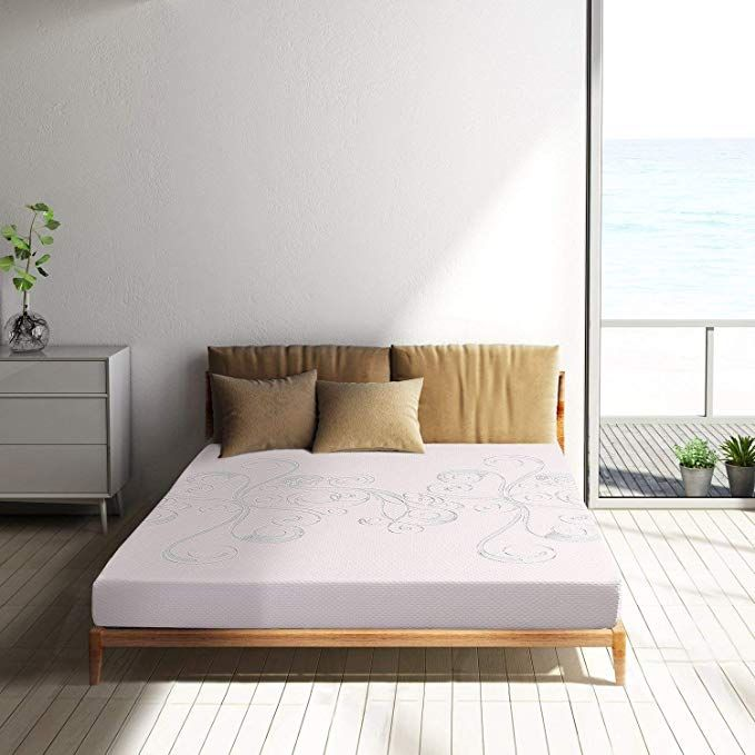 Memory Foam Mattress Full Size 6 Inch Air Gel Memory Foam Bed Mattress Sleep Comfortable 10 Year Warranty White Desi Foam Mattress Bed Single Loft Bed Mattress
