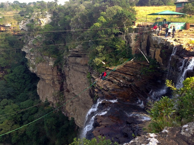 Surprising South Africa, Part 1: ZwaZulu Natal Oribi Gorge Swing