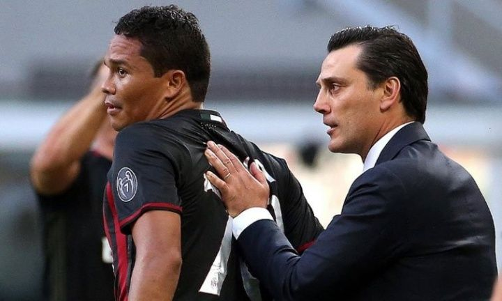 Vincenzo Montella has refused to confirm whether Carlos Bacca Keisuke Honda and Luiz Adriano will remain Milan players in January.  Source