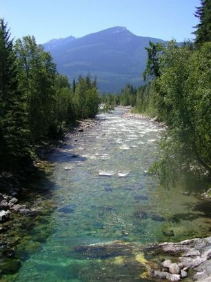 Kuskanax Creek, Nakusp BC, Canada by Sweet As Honey Creations