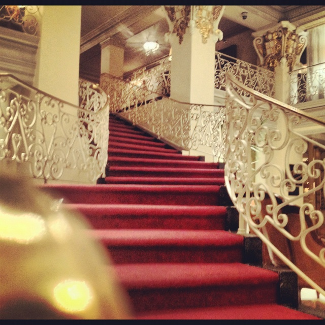 Staircase at St. Anthony Hotel - San Antonio