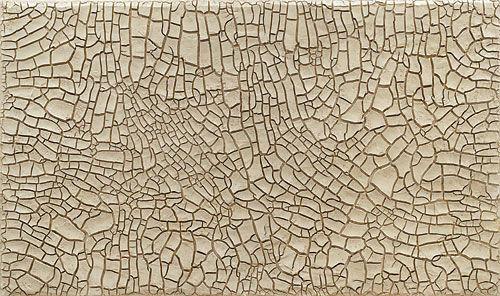 Alberto Burri, White Cretto, 1975, Private Collection