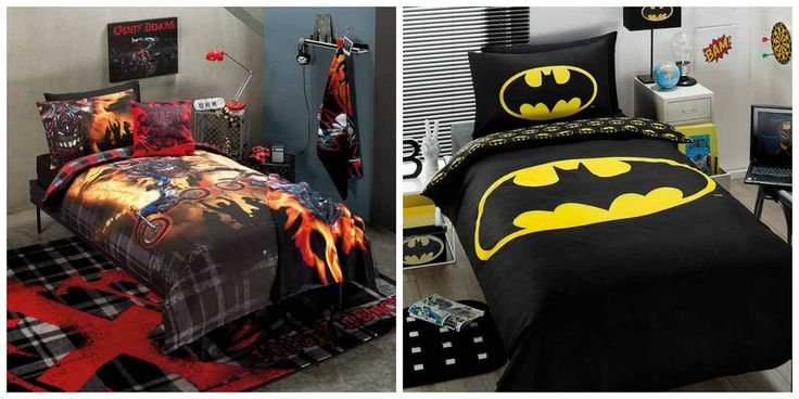 Crusty Demons/ Batman Boys Single Bed Doona/Duvet/Quilt Cover Set - Licenced NEW