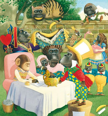 Anthony Browne in Wonderland