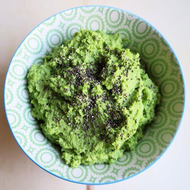 Come fare un puré verde piselli ricotta e semi di chia | Vita su Marte