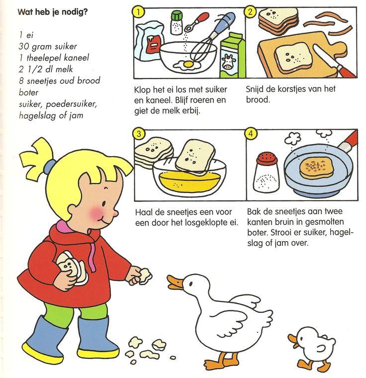 Afbeeldingsresultaat voor stappenplan verloren brood