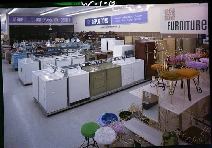 Kmart Appliances Department San Jose, CA (cir. 1970)