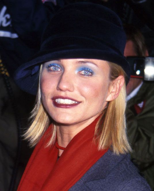 blue eyeshadow. I wore the crap out of that in high school.