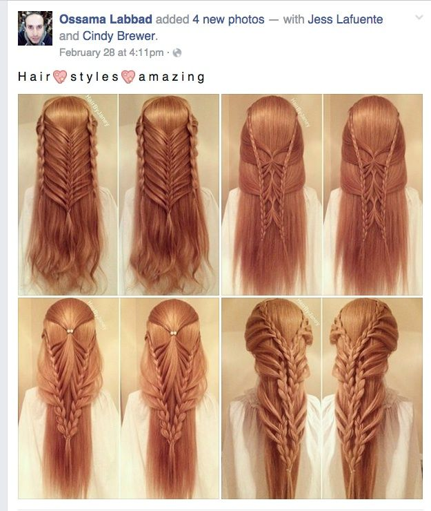morgynleri:  lynati:  ELF HAIR!!Found via Facebook but then I went and hunted down the name on the watermark and HairByJaneY's instagram is here and it's pretty damn awesome. There are a lot of speed-up videos showing how the braids were accomplished, and apparently the same videos exist (at normal speed) as tutorials over on her YouTube channel.@morgynleri this looks up your alley; are you familiar with her stuff already?  I am not, but I will go check her out.