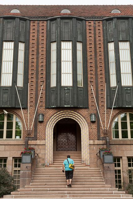 Finland,Lahti - Town Hall , arch. Eliel Saarinen.   3 by Doctor Casino, via Flickr