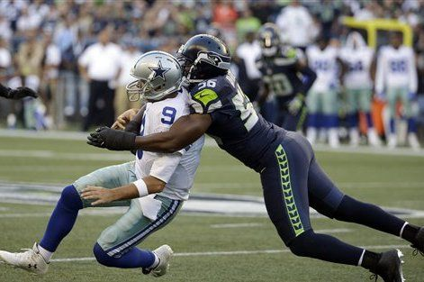 Tony Romo Tells Cliff Avril Cowboys Will See Seahawks in Playoffs - Bleacher Report - 09/02/2016