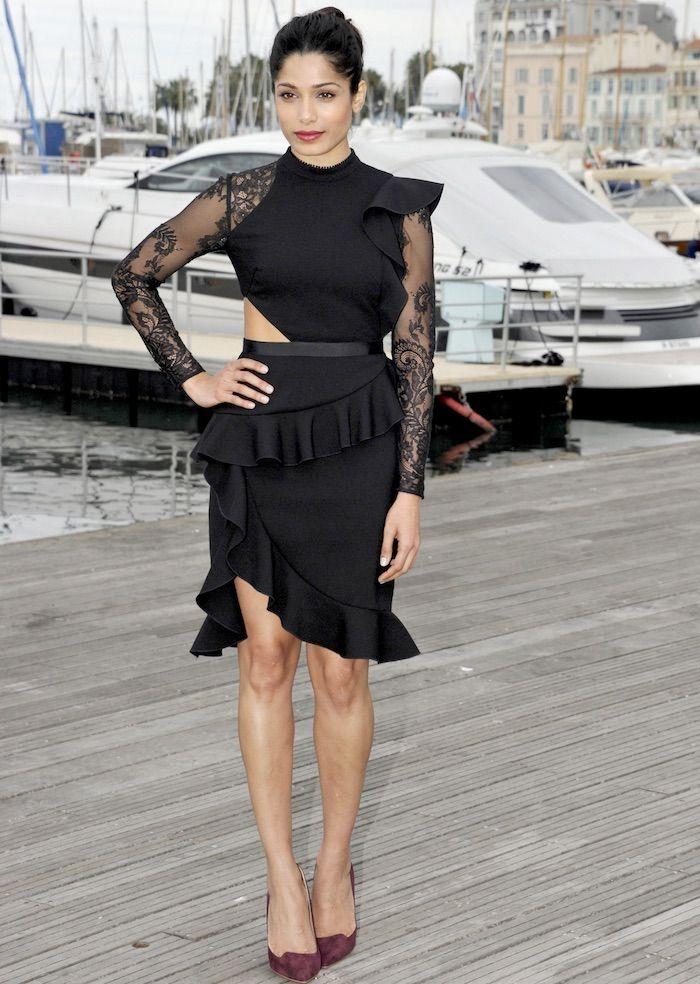 Guerilla black interview dresses