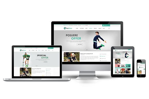 Check out Pav Store Responsive Opencart Theme by PavoThemes on Creative Market
