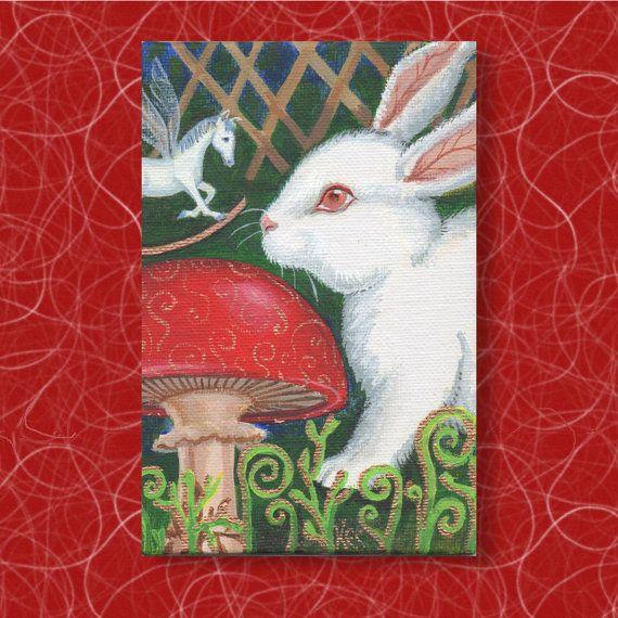 The White Rabbit and the Rocking-Horse-Fly. by TheKestrelAndTheSea