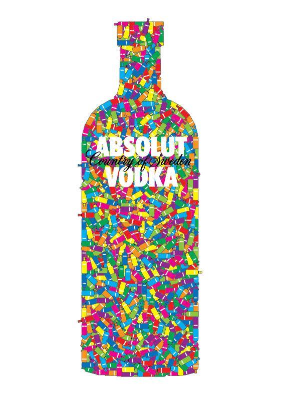absolut vodka art work