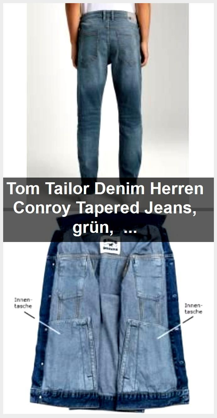 Toms Shoes 80 Off Tom Tailor Denim Mens Conroy Tapered Jeans Green Size 32 32 Tom Tailortom Tailor Conroy Denim Tapered Jeans Tailoring Jeans Mens Denim