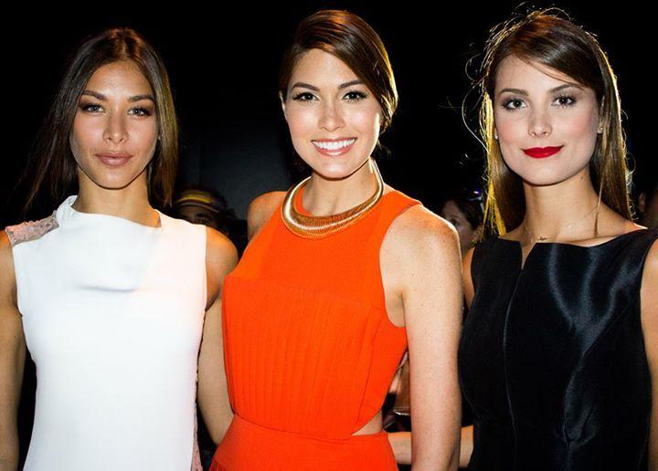 Miss Universe 2008- Dayana Mendoza, Miss Universe 2013- Gabriela Isler and Miss Universe 2009- Stefania Fernandez.. GORGEOUS..>!