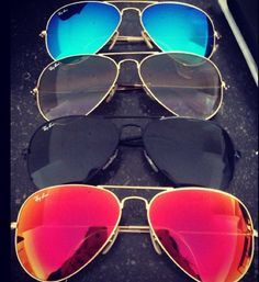 Ray ban sunglasses, realy wanted the blue ones!