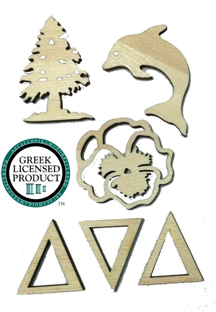 108 best sorority tri delta images on pinterest tri for Greek letters paddles store