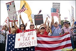 See this Tax protesters !