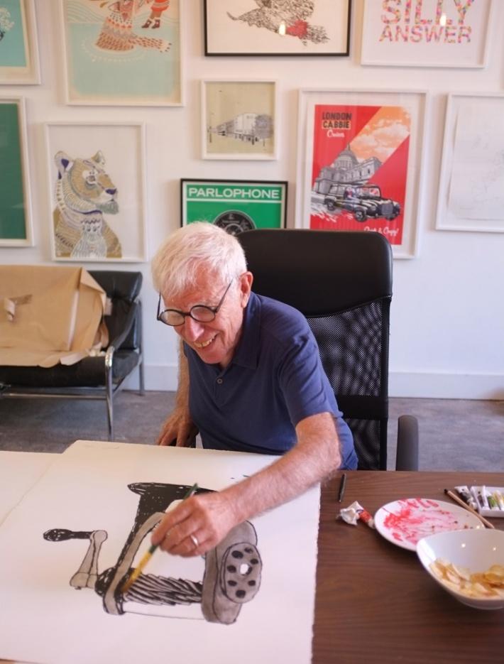 Print Club London    Bob Gill