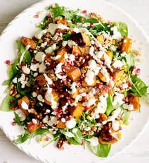 Quinoa and roast Veggie salad with yoghurt dressing recipe  - Better Homes and Gardens - Yahoo! New Zealand