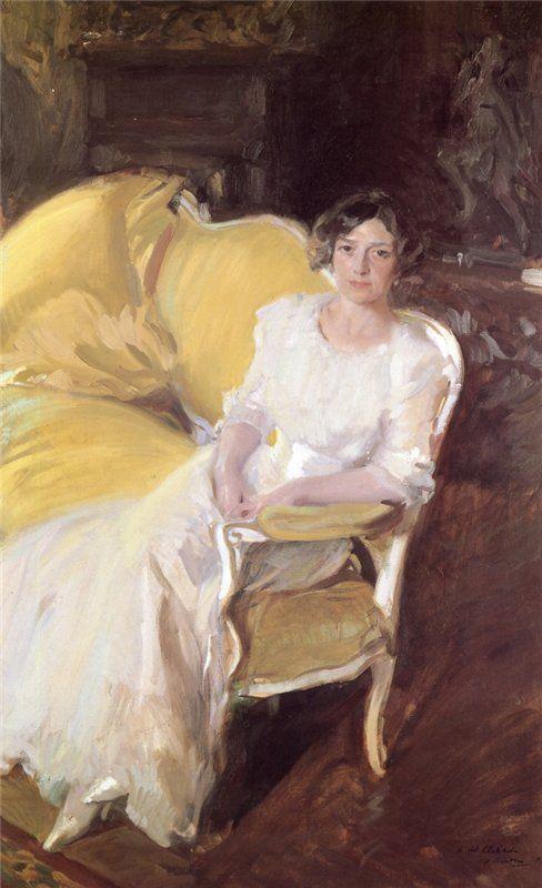 John Singer Sargent - Katharine Pratt, Follow the biggest painting board on Pinterest: www.pinterest.com/atelierbeauvoir