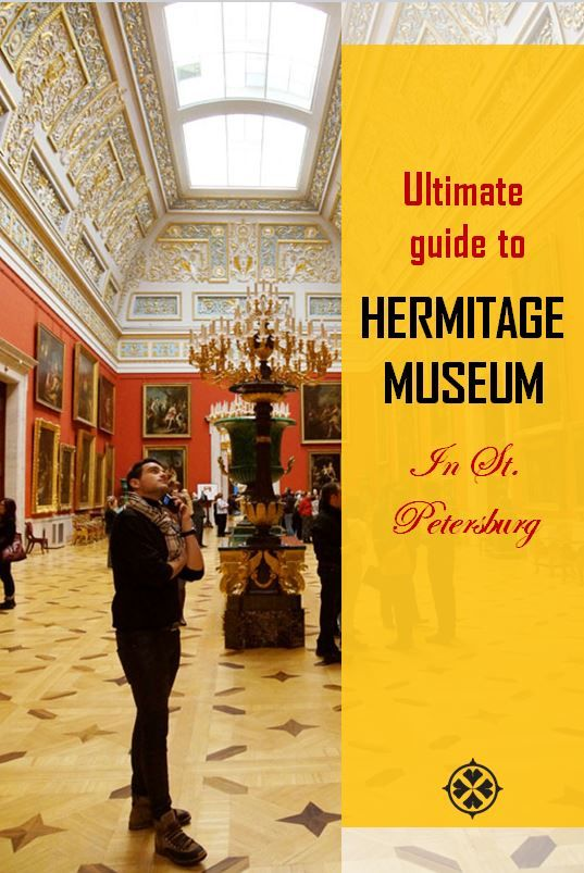 The State Hermitage Museum in St. Petersburg is one of the most important collections in the world. With more than 3 million exhibits and countless kilometers of corridors it certainly is the biggest museum in Russia and a must-visit for every tourist.