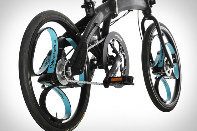 Loopwheels Move The Bicycle's Suspension Directly Into The Wheel