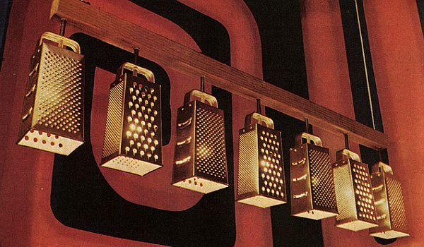 Des râpes Luminaires, par army arch