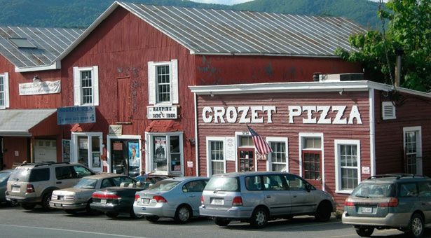 Crozet Pizza- in National Geographic Guide Book!