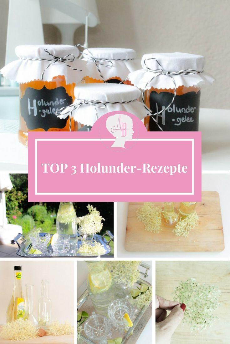 DIY: Meine TOP 3 Holunder-rezepte für den Sommer: Holunderblütenessig, Holunderlimonade und Holundergelee. Ganz leicht hausgemacht und auch eine wirkich tolle Geschenkidee für die nächste Sommerparty oder den nächsten Grillabend bei Freunden.
