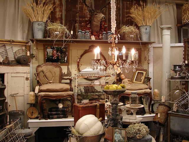 furniture display ideas. monticello antique marketplace love the big long shelf for height and display furniture ideas