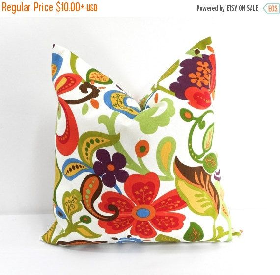 PILLOW SALE. Wildwood Garden. Indoor By TwistedBobbinDesigns