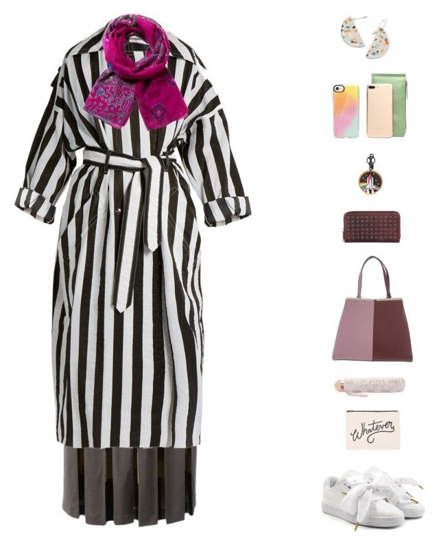 """""""Anita V"""" by sol4nge ❤ liked on Polyvore featuring Etro, Nina Ricci, Desigual, Puma, Fendi, Ted Baker, Neiman Marcus, ALPHABET BAGS, Casetify and Coach"""