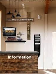 church foyer welcome center - Google Search                                                                                                                                                      More