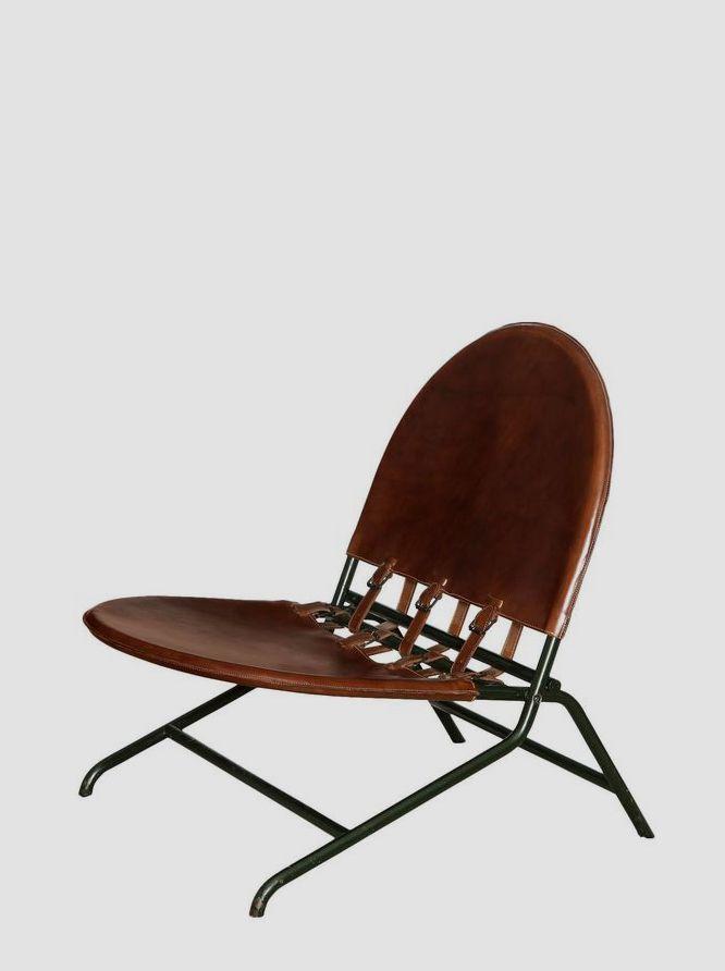 Rare 'Folding Garden Chair' by Ico & Luisa Parisi | 1stdibs.com