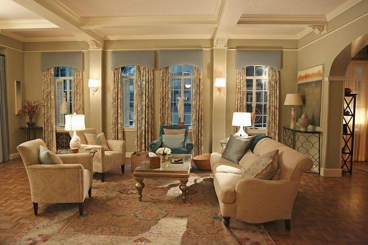 6 things we want to steal from olivia pope 39 s apartment olivia d 39 abo columns and the o 39 jays. Black Bedroom Furniture Sets. Home Design Ideas