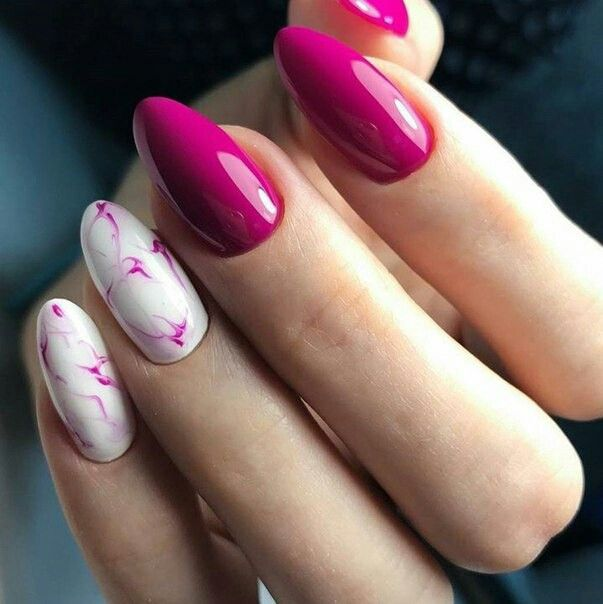 Pink White Nails Nail Fantasy Pinterest Pink White Nails