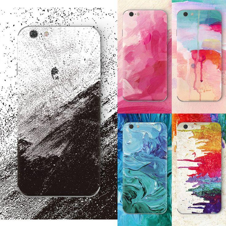のためのiphone 6 case高級電話落書き塗装油絵カラーデザインケースのためiphone 6 s入り江シリコンバックカバーケース