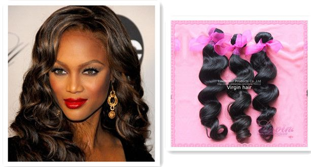 #CelebrityHairGuide Tyra Banks Height:5feet10inch   Hair extension type: weaving  Recommendation: 2-3pcs16inch of Luvin loose wave(100g/pc)  Color: #1b off black