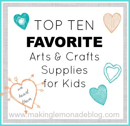 Favorite kids arts crafts ideas supplies the best for Best craft kits for kids
