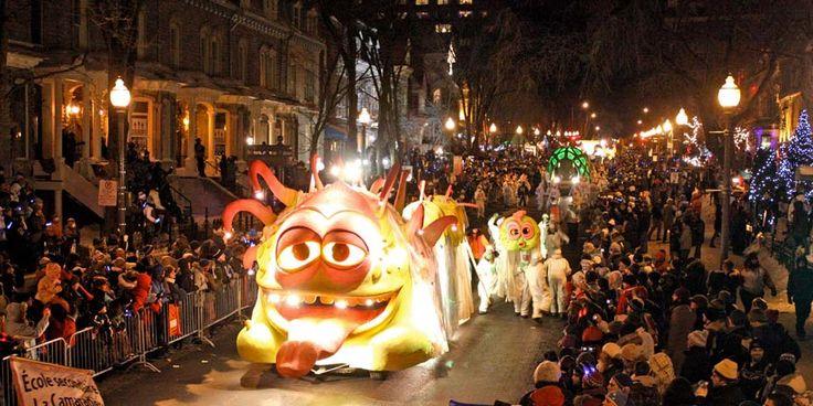 Quebec Winter Carnival photo