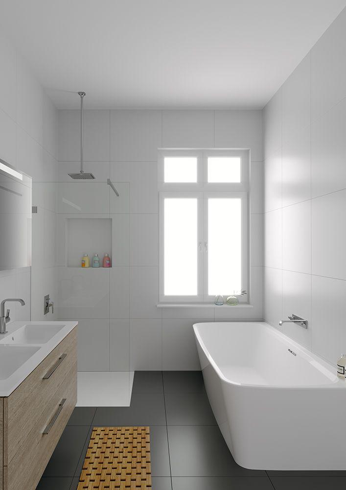 Charming RIHO Bathtub Adore (Back 2 Wall)