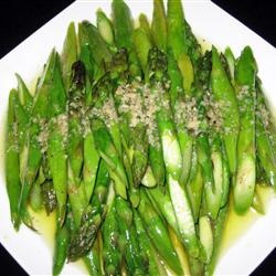 Pan-fried Asparagus  may not be a 'real' WW item...but you can switch the oil/butters to lesser amounts....then I think it would be great.  Myself--I have never tried asparagus...but this I think I would like...