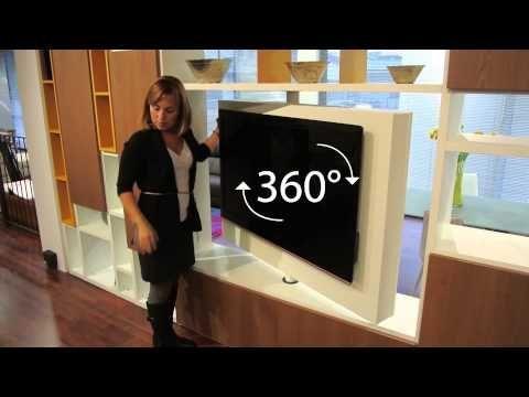 porta tv girevole orientabile Free view 360 mood - Dettaglio ...