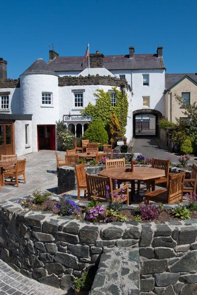 Bushmills Inn Seating Area, Antrim, Ireland.